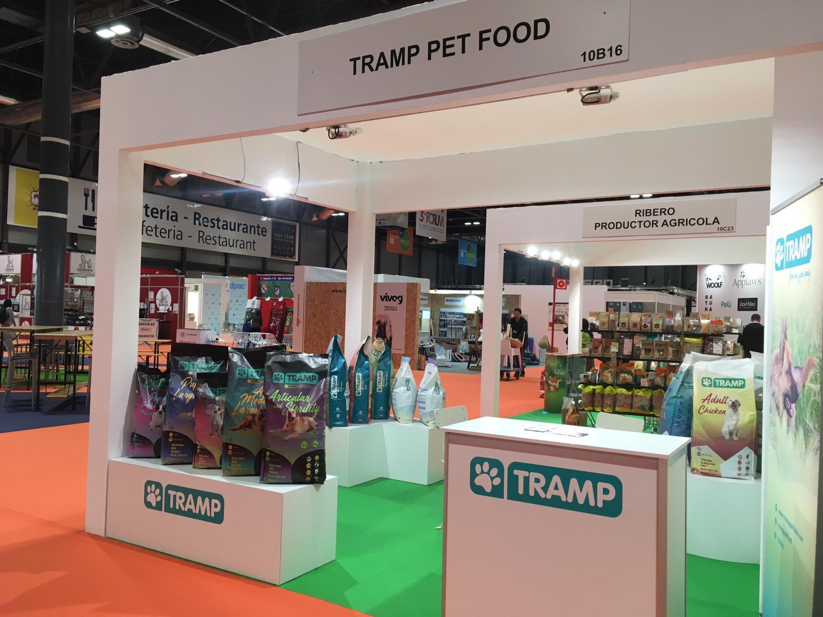 Tramp Pet Food en Iberzoo Propet